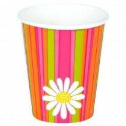 """Daisy Stripe"" Ποτήρι"