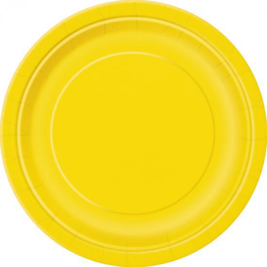 """""""Yellow"""" Πιάτο Φαγητού"""