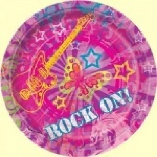 """""""Rock On"""" Πιάτο Γλυκού"""