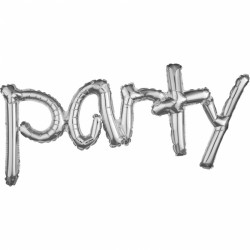 """""""Party"""" Μπαλόνι Silver"""