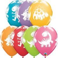 """Μπαλόνι 11"""" latex Δεινόσαυροι"""