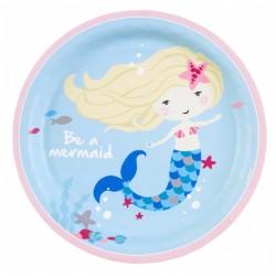 """Be A Mermaid"" Πιάτο Φαγητού"