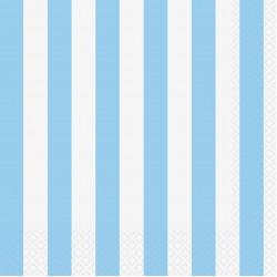 """Powder Blue Stripes"" Χαρτοπετσέτα"