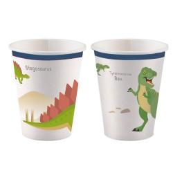 """Happy Dinosaur"" Ποτήρι"