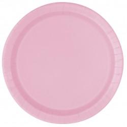"""Lovely Pink"" Πιάτο Φαγητού"