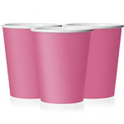 """Hot Pink"" Ποτήρι"
